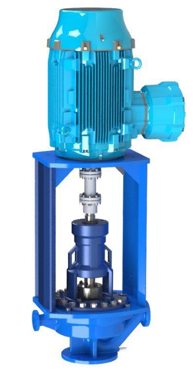 OH3/4 Vertical Inline Types VBU/VBU2 – API 610 Process Pump
